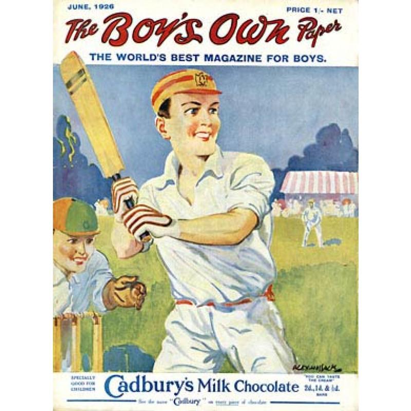 Boys Own Cricket, 1926