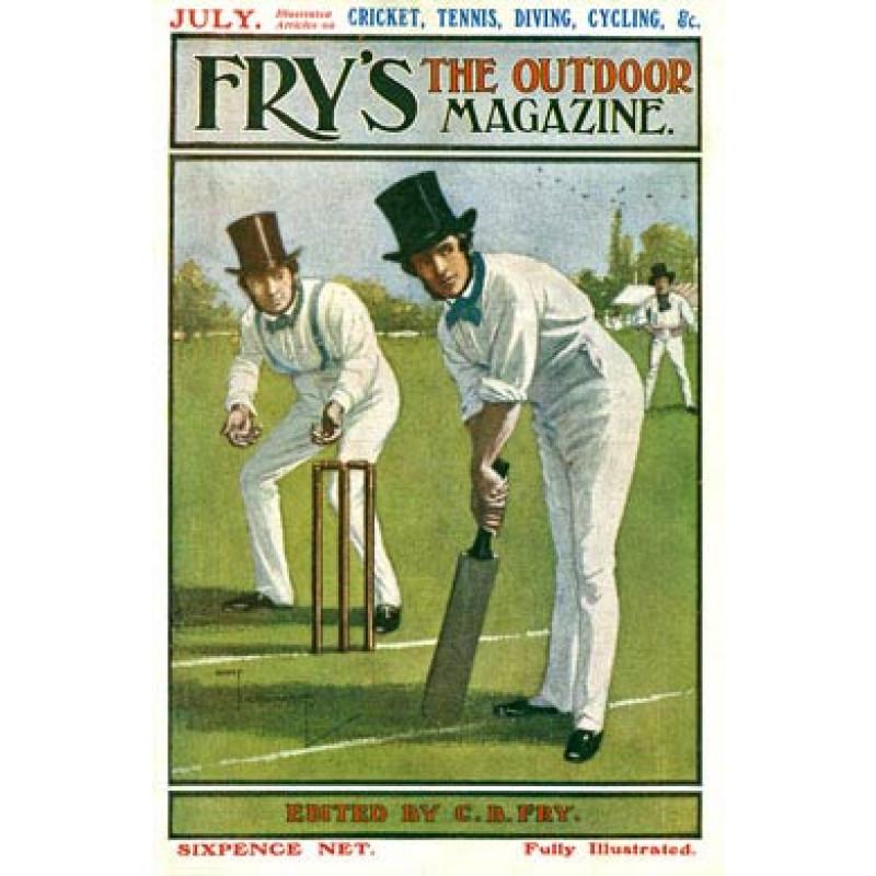 Cricket, Fry's Magazine, 1905