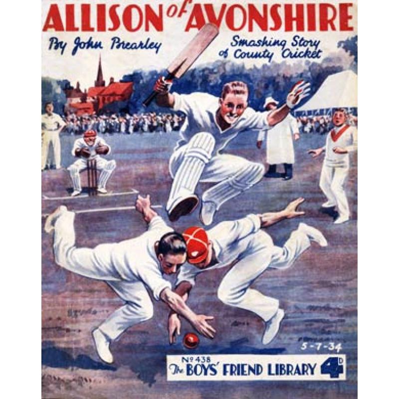 Allison Of Avonshire, 1934