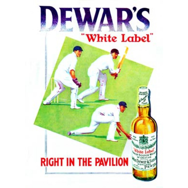 Dewar's Cricket Ad