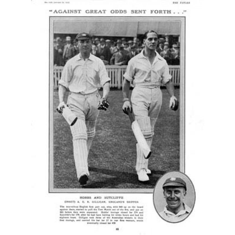 Hobbs and Sutcliff, 1925