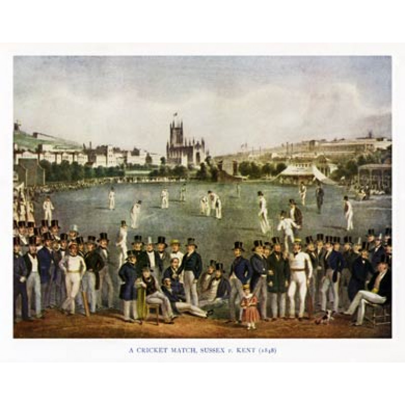 Sussex v Kent, 1848