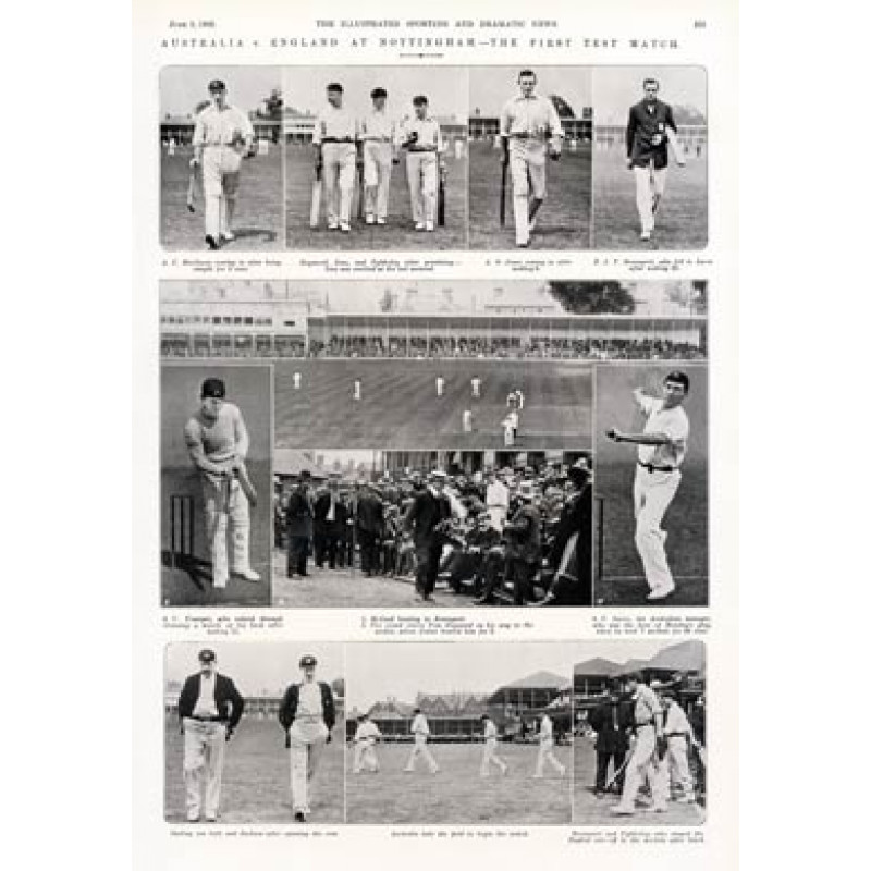 England v Australia, Notts, 1905
