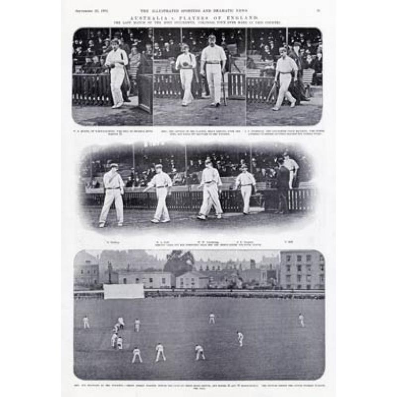 England XI v Australia, Oval, 1902