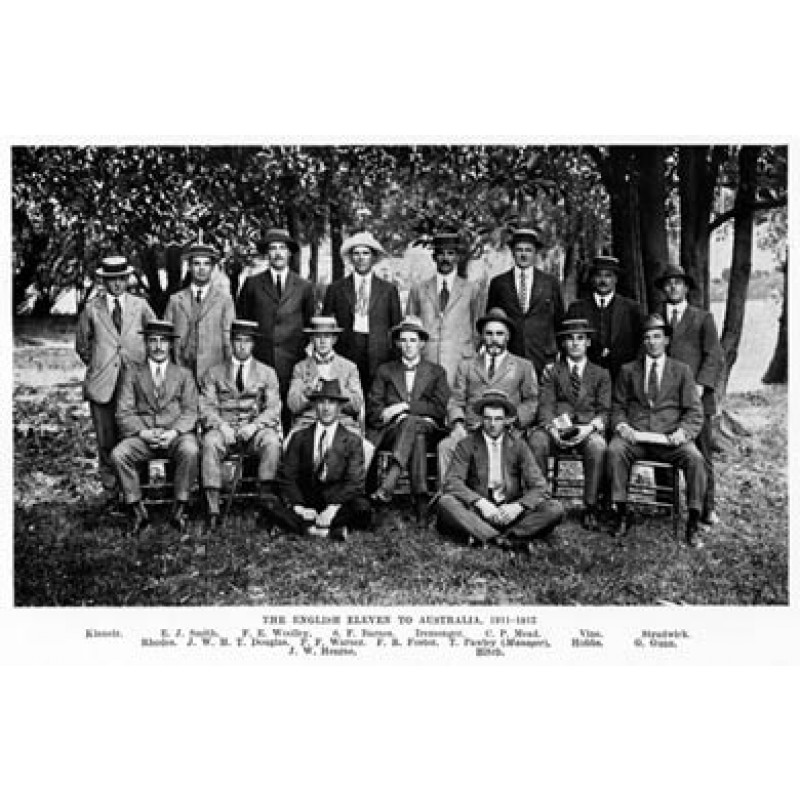 England XI in Australia, 1911-12