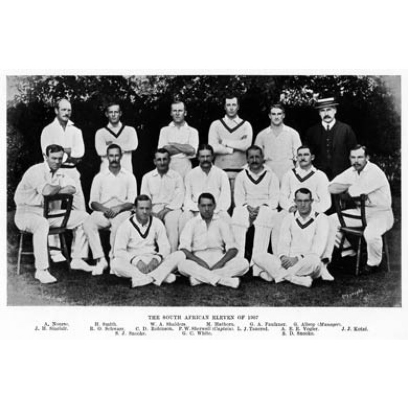 South African XI, 1907