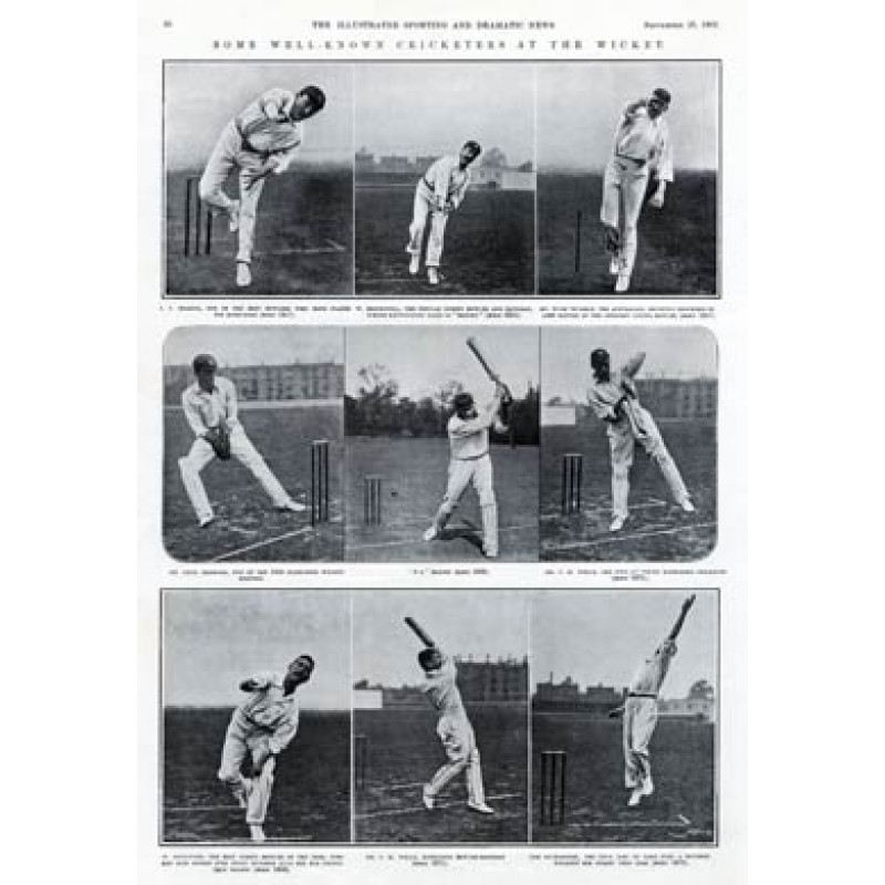 Well-Known Cricketers, 1902