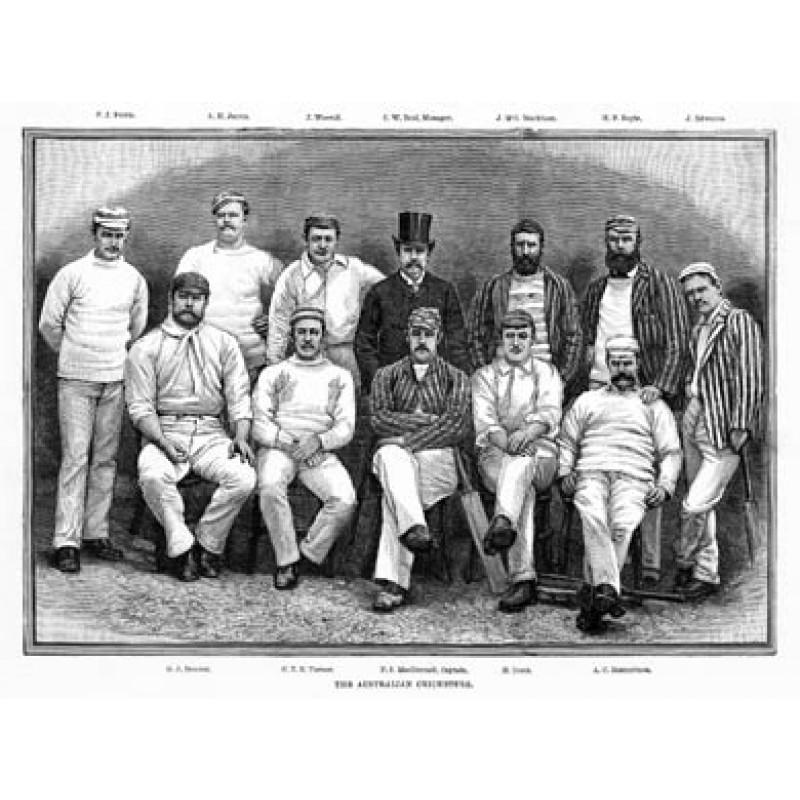 Australian Cricket Team, 1888