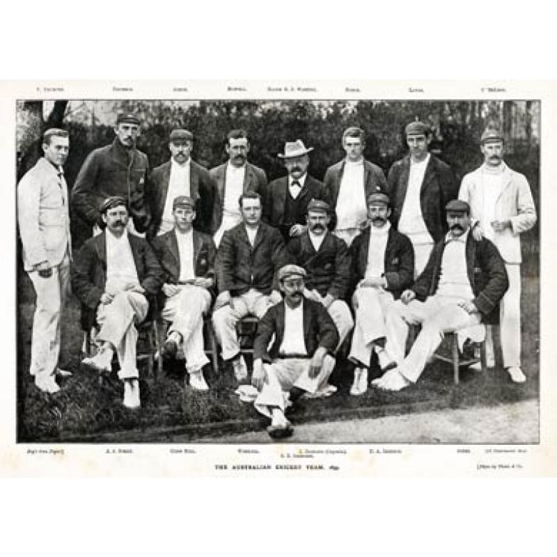 Australian Cricketers, 1899