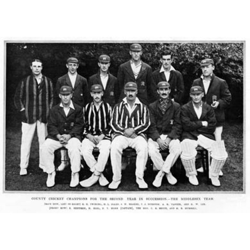 Middlesex, County Champions, 1921