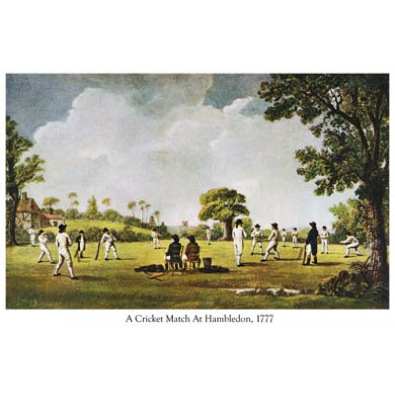 Cricket At Hambledon, 1777