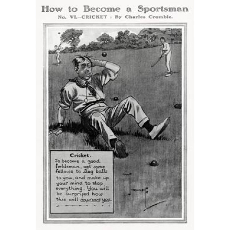Become a Sportsman, Cricket