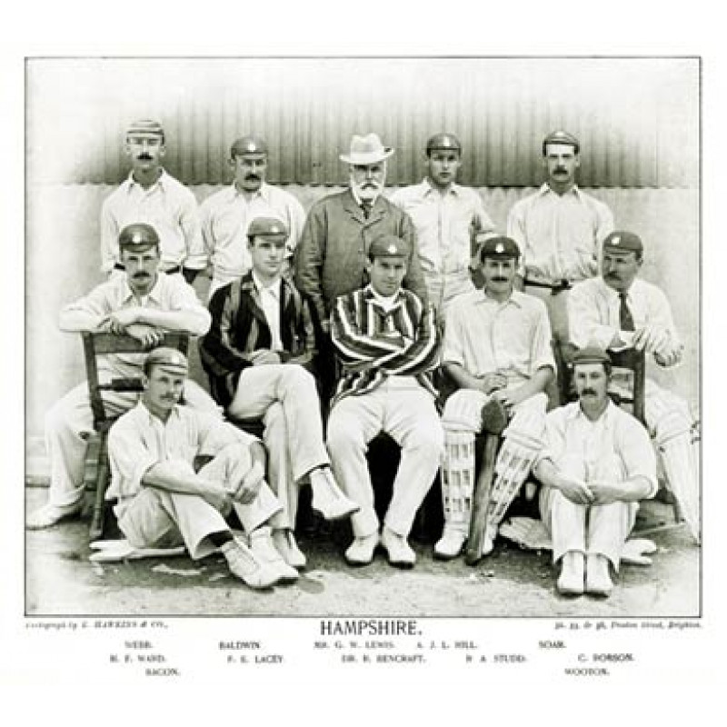 Hampshire CCC, 1895