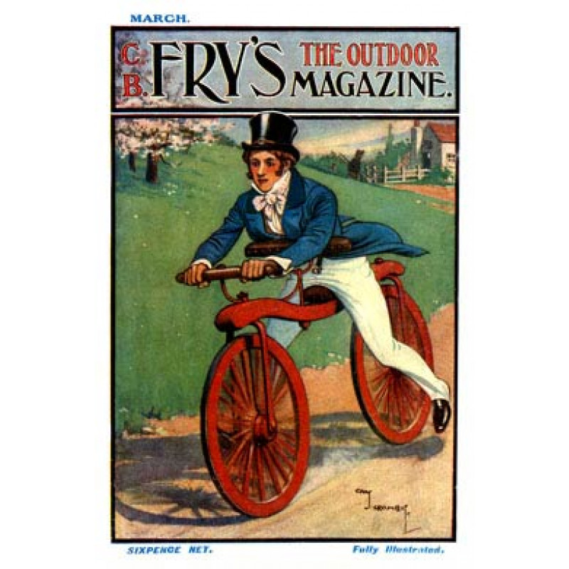 Cycling, Fry's Magazine, 1906