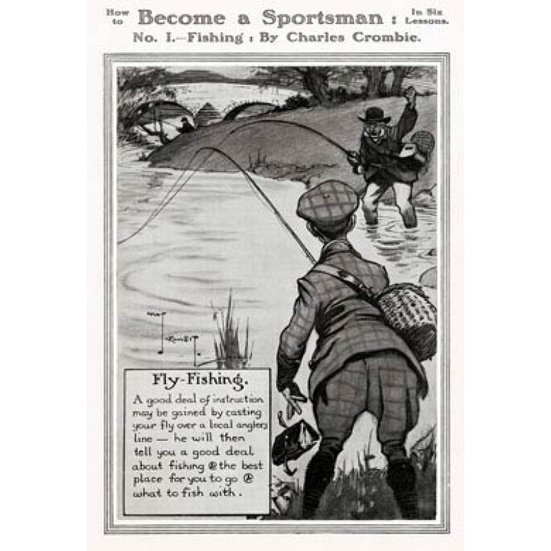 Become a Sportsman, Fishing