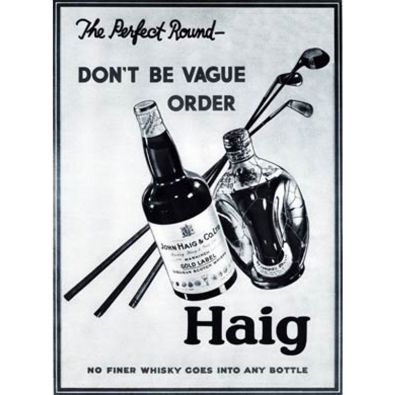 Haig Whisky Golf