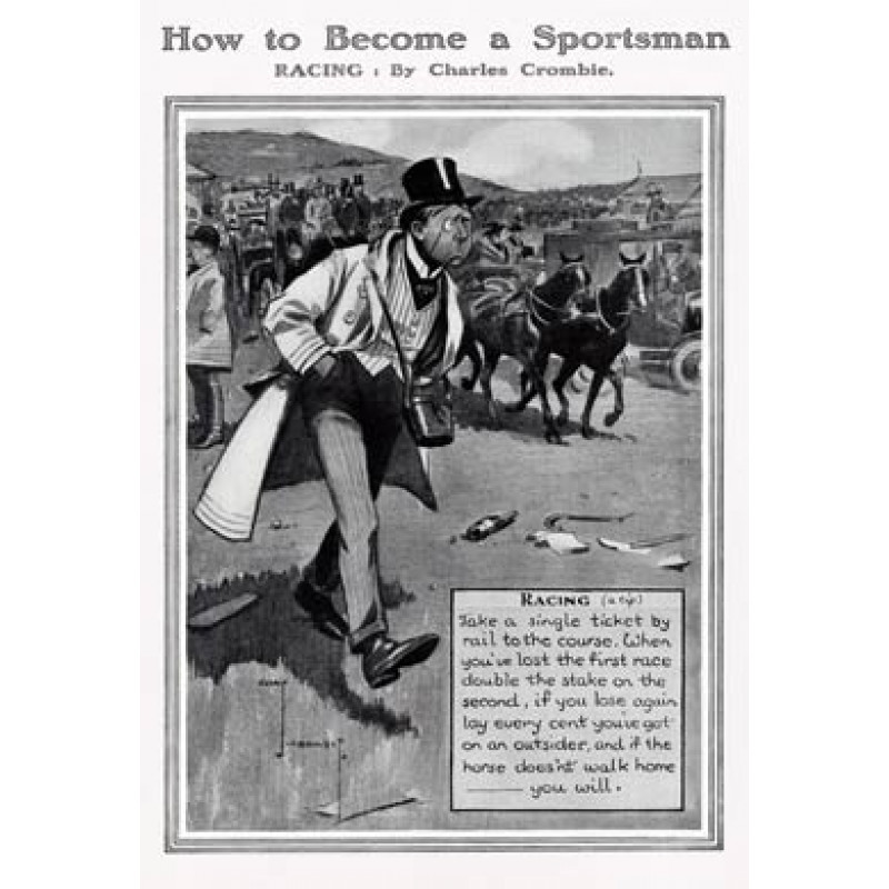 Become a Sportsman, Horse Racing