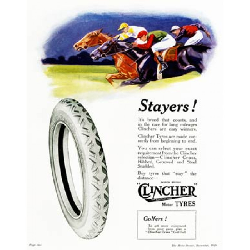 Clincher Tyres, Horseracing