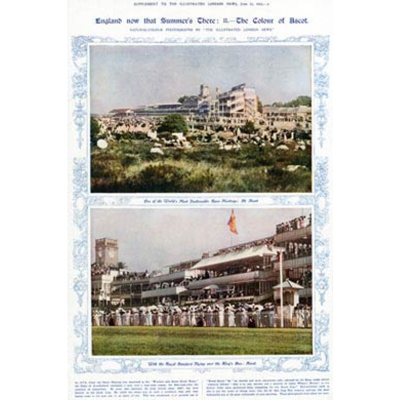 Ascot In Colour, 1911
