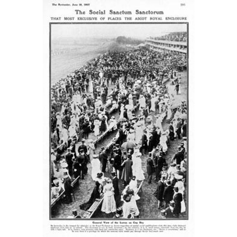 Ascot, Royal Enclosure, 1907