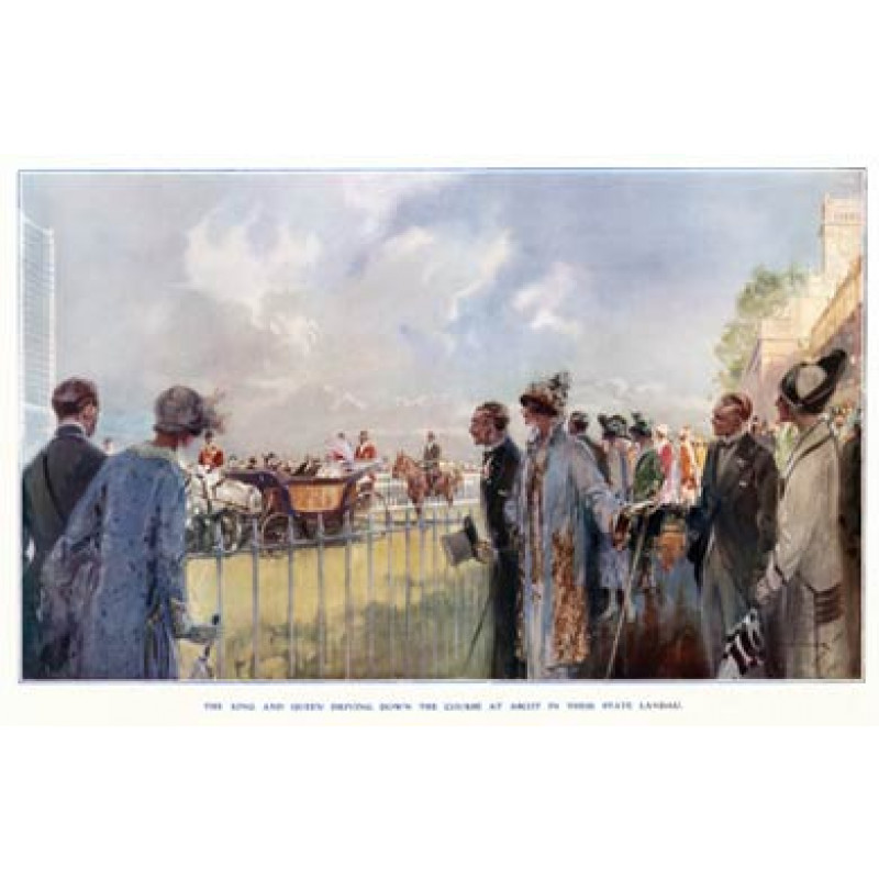 Ascot, Royal Procession, 1925