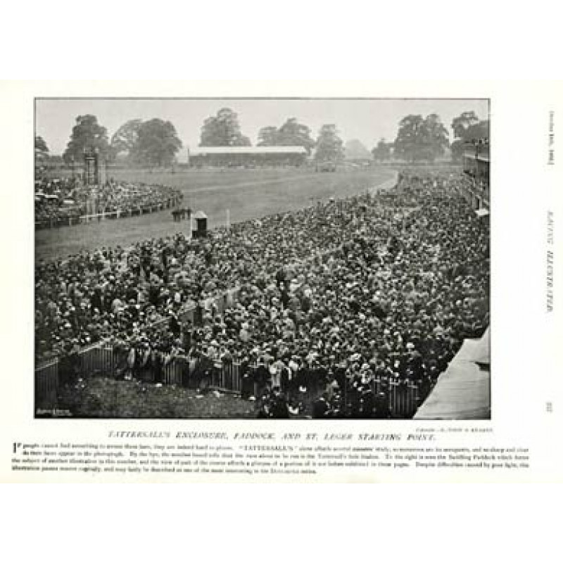 St Leger Start, Doncaster, 1895