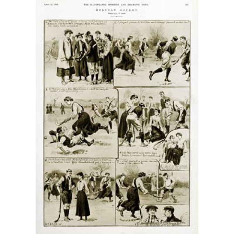 Holiday Mixed Hockey, 1905