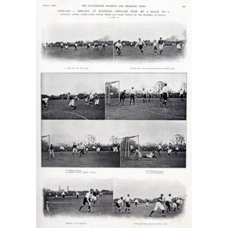 England v Ireland, 1905