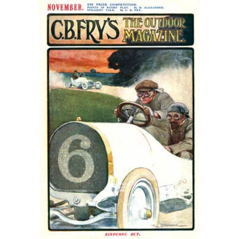 Motor Racing, Fry's Magazine, 1905