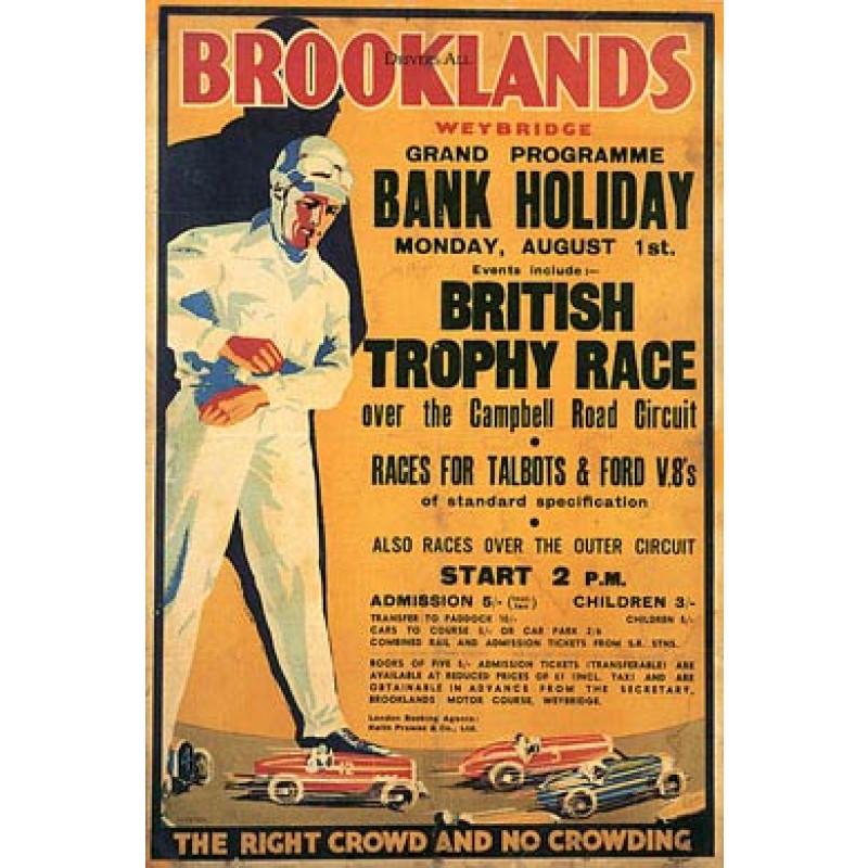 Brooklands, 1932