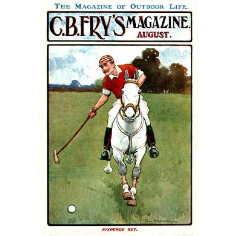 Polo, Fry's Magazine, 1905