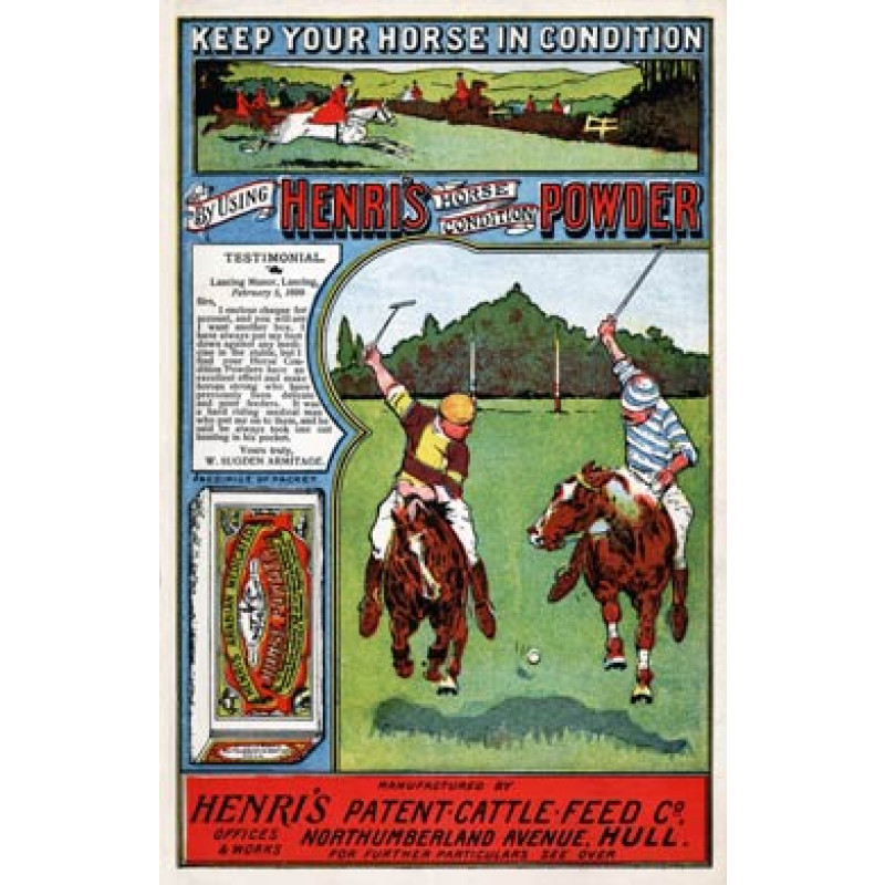 Henris Horse Condition Powder