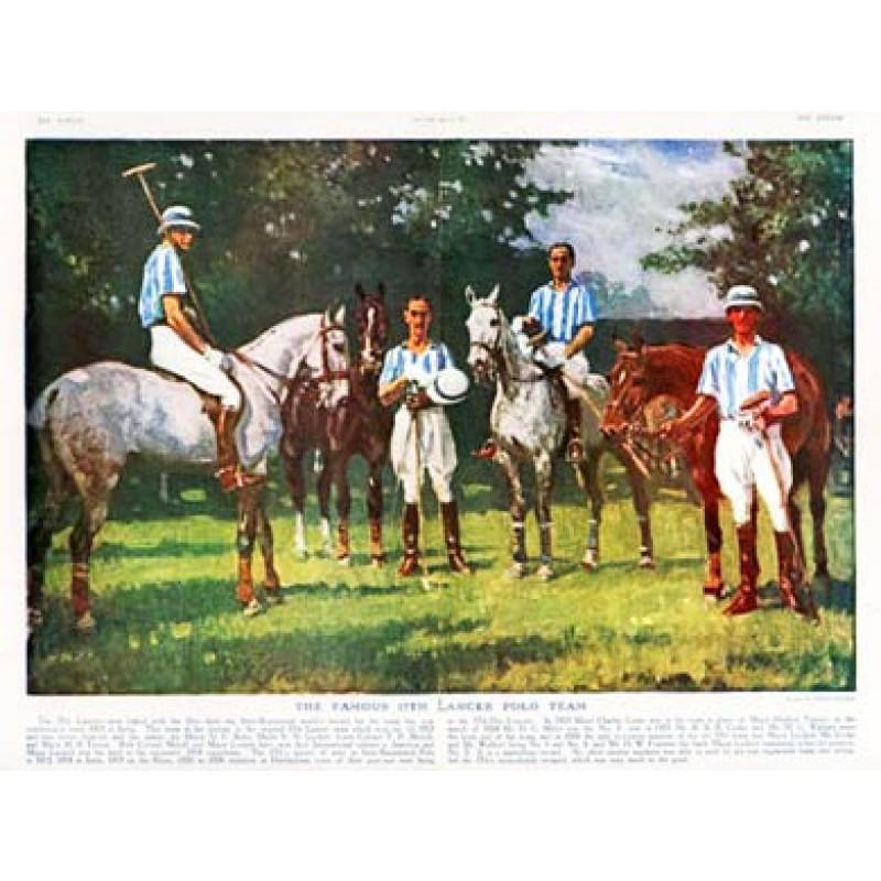 17th Lancer Polo Team, 1927