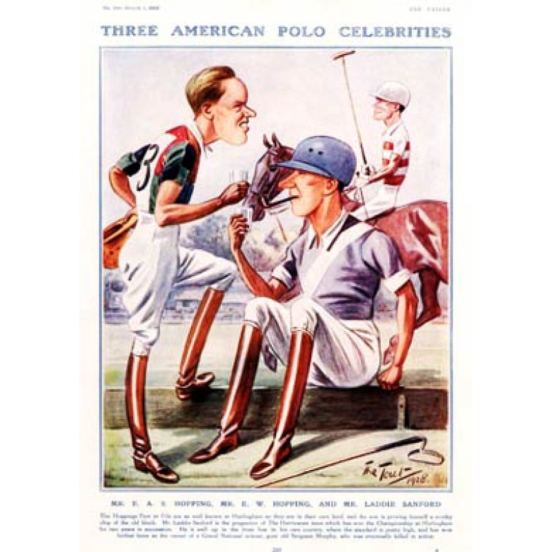 American Polo Celebrities, 1928