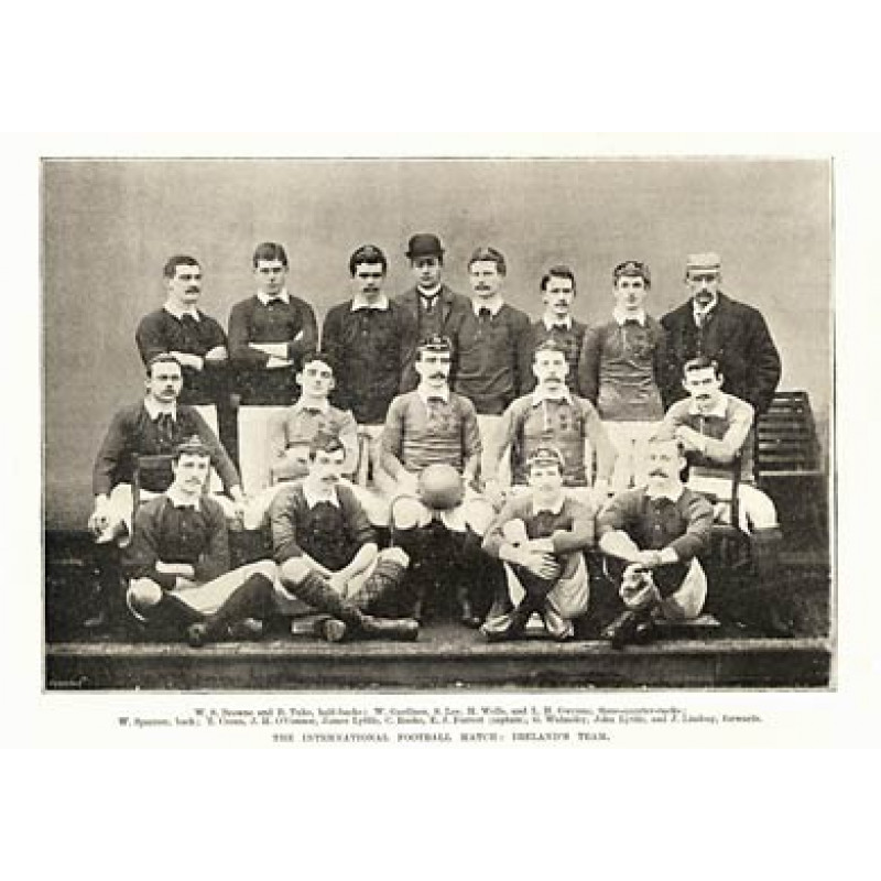 Ireland Rugby Team, 1894