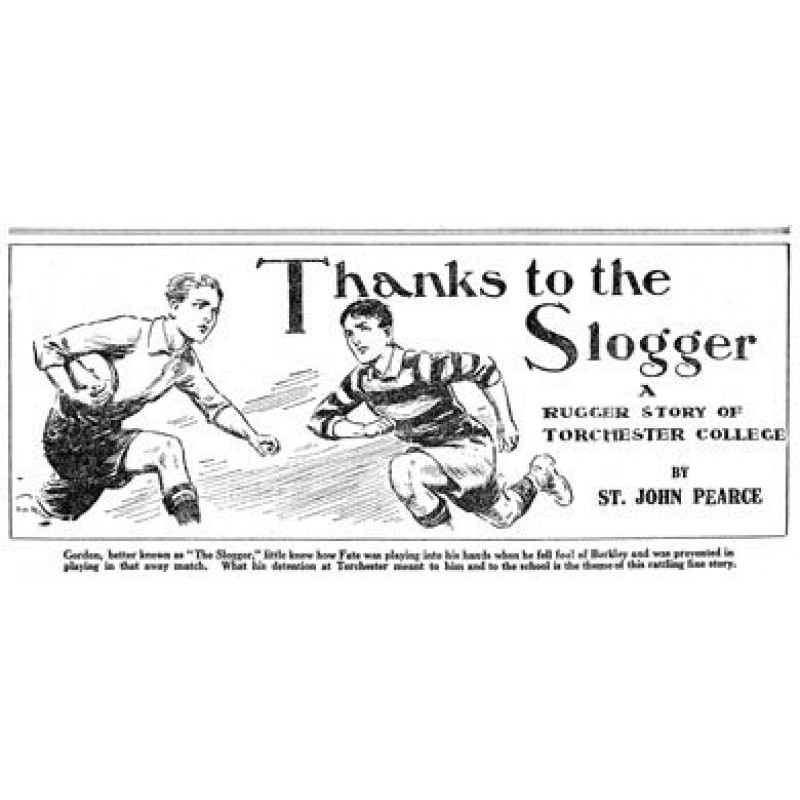 Thanks to the Slogger