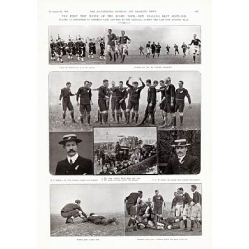 Scotland v New Zealand, 1905