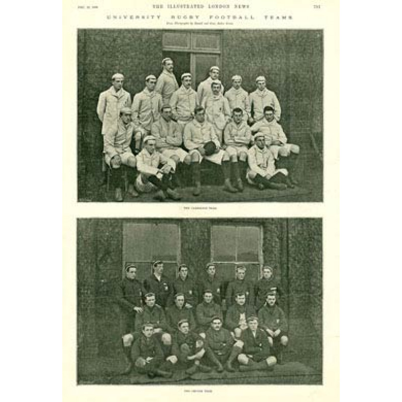Varsity Match Teams, 1894