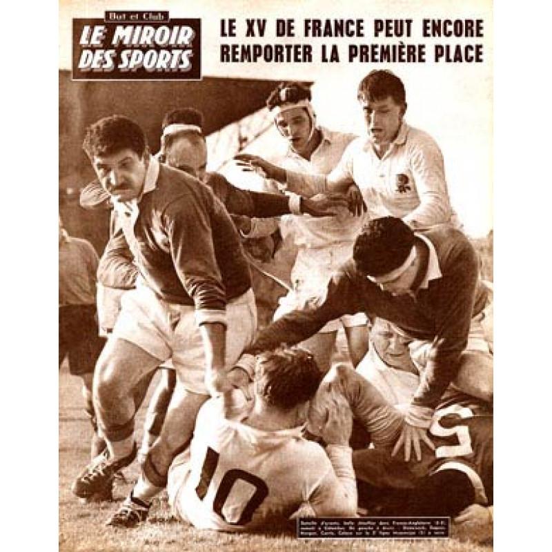 England v France, 1960