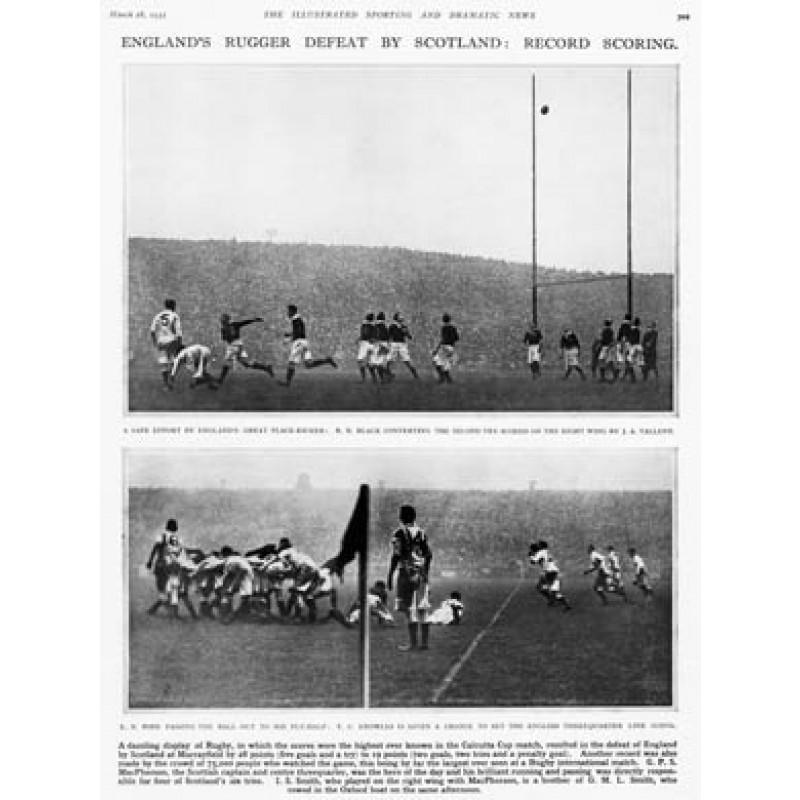 Scotland v England, 1931