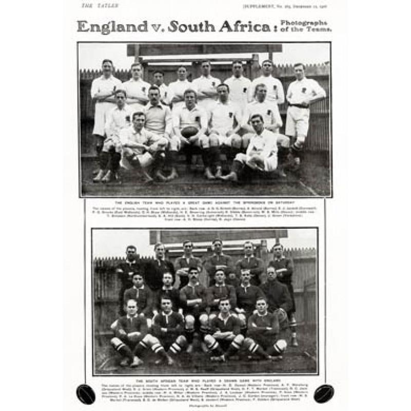 England v South Africa, 1906