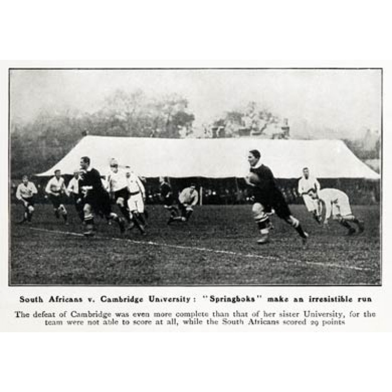 Cambridge v South Africa, 1906