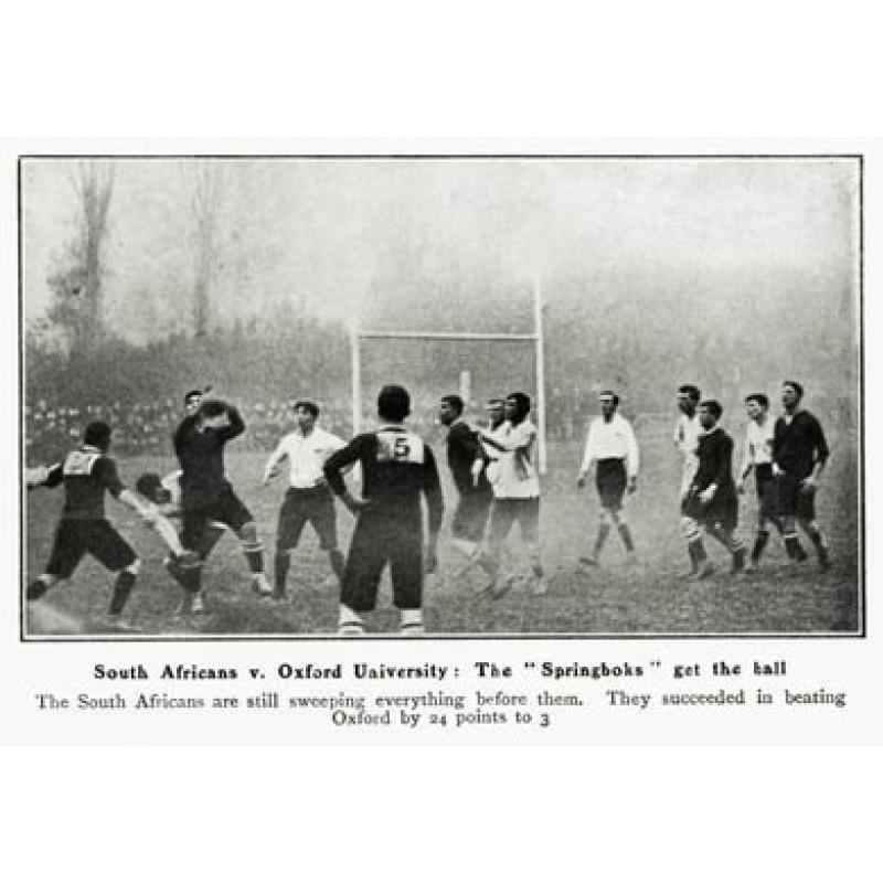 Oxford Uni v South Africa, 1906