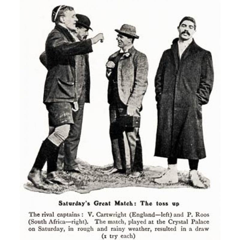 England v South Africa, 1906, Toss Up