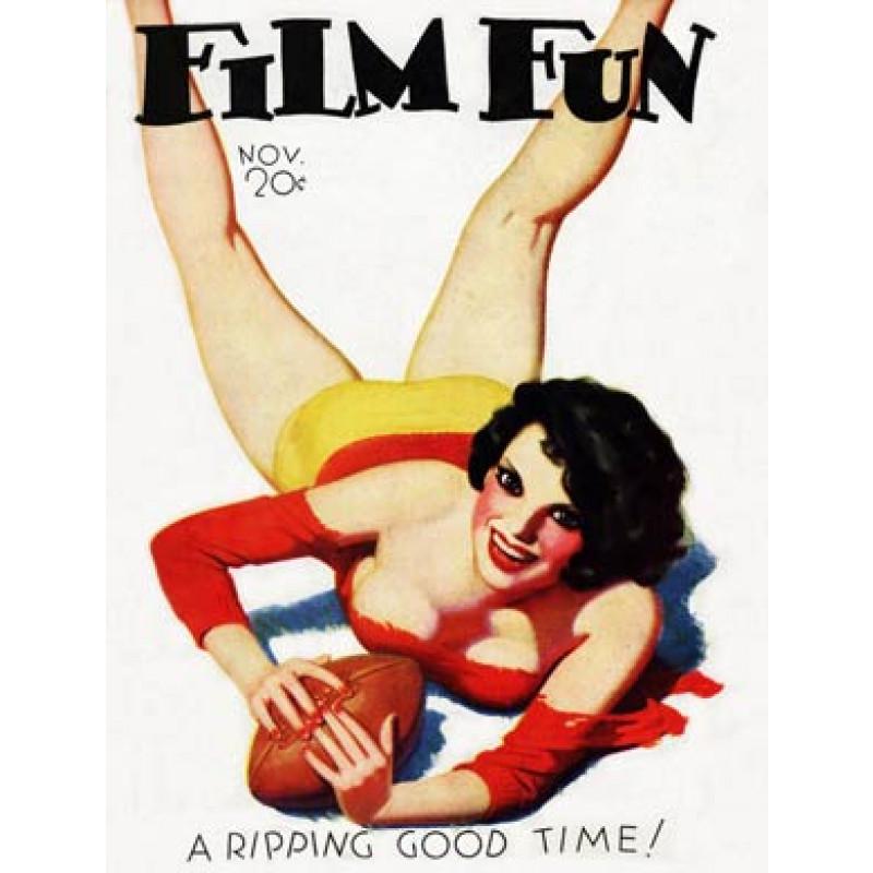 Film Fun, Football