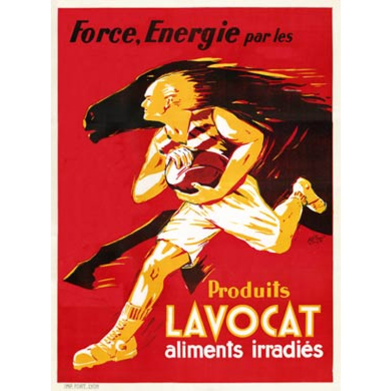 Lavocat Rugby Poster