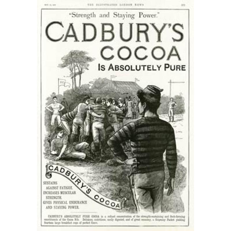 Cadburys Cocoa Rugby Advert