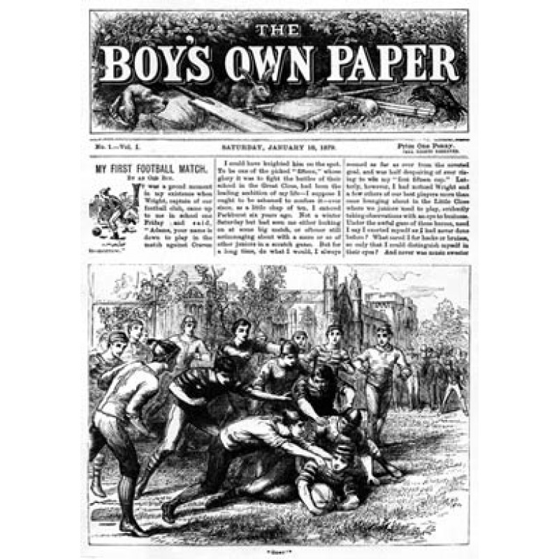 Boys Own Paper, No1, 1879