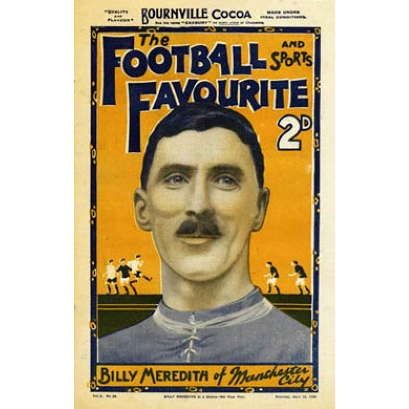 Football Favourite, Billy Meredith