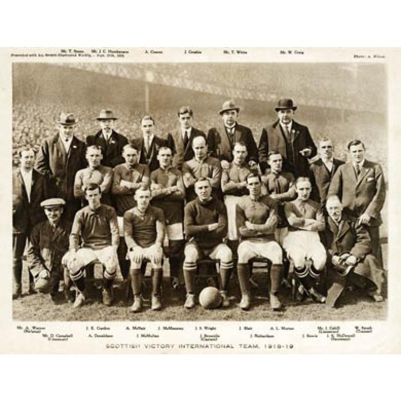 Scottish 'Victory' International Team, 1918